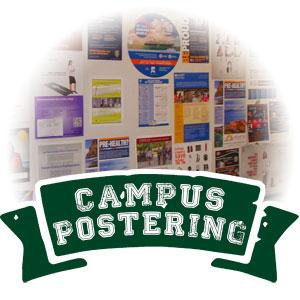 campus postering